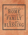 Wall Decals and Stickers - Home...Family...Blessing