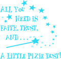 Wall Decals and Stickers –  all you need is faith