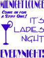 Wall Decals and Stickers –  its ladies night