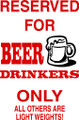 Wall Decals and Stickers –  beer drinkers