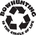 Wall Decals and Stickers – bow hunting