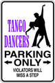Wall Decals and Stickers –  tango dancers   parking only