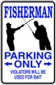 Wall Decals and Stickers  –  fishing parking only
