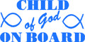 Wall Decals and Stickers –  child of god on board