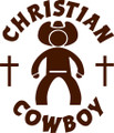 Wall Decals and Stickers – christian cowboy