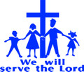 Wall Decals and Stickers –  we will serve the lord