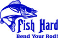 Wall Decals and Stickers –  fish hard bend your rod