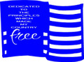 Wall Decals and Stickers - American flag: dedicated to the principals.. (1)