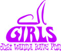 Wall Decals and Stickers –  girls just want to have fun
