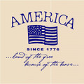 Wall Decals and Stickers - American flag: since 1776.. (4)