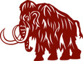 Wall Decals and Stickers –  Woolly Mammoth