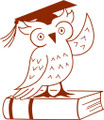 Wall Decals and Stickers – Owl And Book