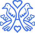 Wall Decals and Stickers – Birds  And Hearts