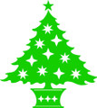 Wall Decals and Stickers –   Christmas  Tree
