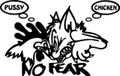 Wall Decals and Stickers –  No Fear *