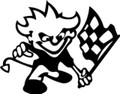 Wall Decals and Stickers –  Racing Flags