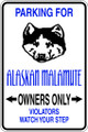 Wall Decals and Stickers - Alaskan Malamute