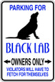 Wall Decals and Stickers - Black Lab