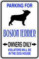 Wall Decals and Stickers - Boston Terrier