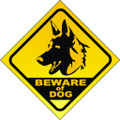 Wall Decals and Stickers - Beware