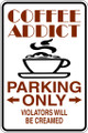Wall Decals and Stickers - Coffe Addict