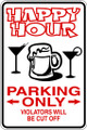 Wall Decals and Stickers - Happy Hour