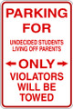 Wall Decals and Stickers - Parking For