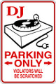 Wall Decals and Stickers - DJ Parking