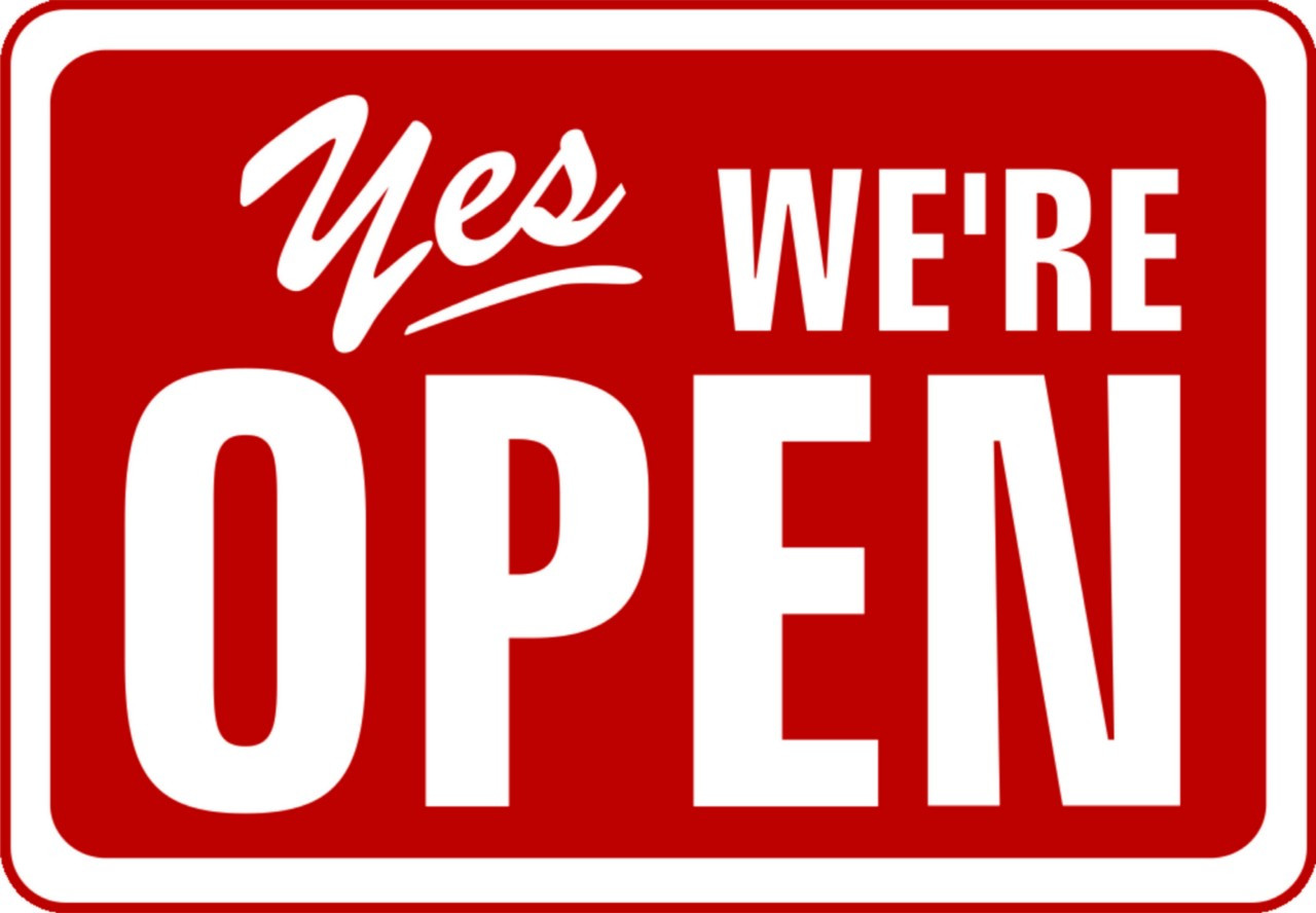 Yes Were Open Sign For Stores DesignWithVinylcom