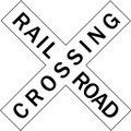 Wall Decals and Stickers - Railroad Crossing