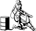 Wall Decals and Stickers - Barrel Racing