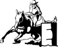 Wall Decals and Stickers - Cowgirl Racing