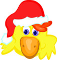 Wall Decals and Stickers - Christmas Bird