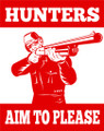 Wall Decals and Stickers - Hunters Aim To Please