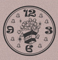 Wall Decals and Stickers - Clock: popcorn