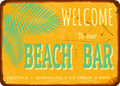 Wall Decals and Stickers - Beach Bar