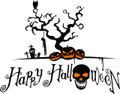 Wall Decals and Stickers - Happy Halloween 2