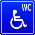 Wall Decals and Stickers - WC Disabled