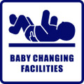 Wall Decals and Stickers - Baby Changing Facilities