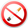 Wall Decals and Stickers - Smoking is Not Allowed