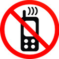 Wall Decals and Stickers - No Cellphone Allowed