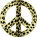 Peace Sign 2 Decal  -  Dorm Rooms  -  Wall Decals & Stickers