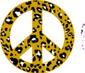 Peace Sign 3 Decal  -  Dorm Rooms  -  Wall Decals & Stickers