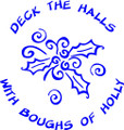 Deck the Halls Holiday - Wall Decals & Stickers