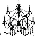 Chandelier Kitchen - Wall Decals & Stickers