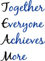 Wall Decals and Stickers - Together everyone achieves more