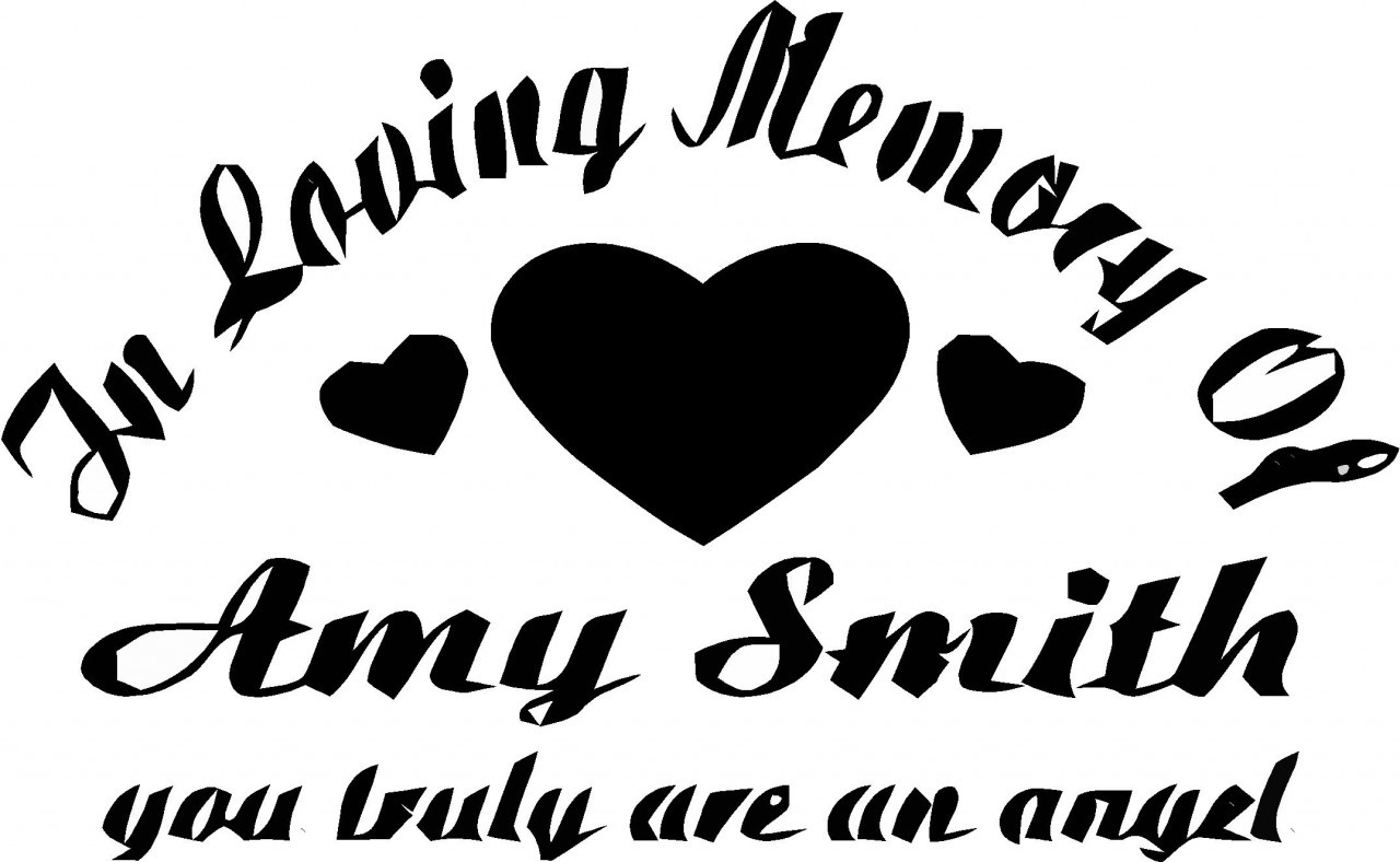 Decorative Apartment Walls | Removable Wall Letters ... In Loving Memory Graphics