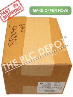 FACTORY SEALED! ALLEN BRADLEY 592-EC5BC /C Overload Relay 3-15a *FAST SHIPPING!*