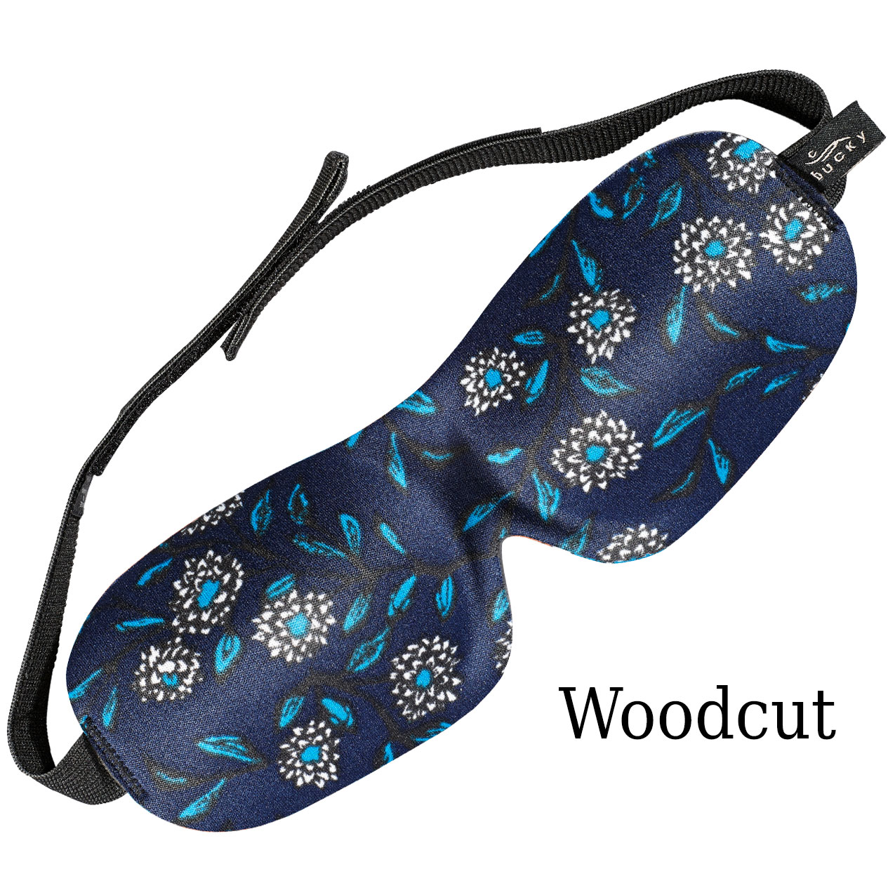 Bucky 40 Blinks Sleep Mask | Woodcut Floral