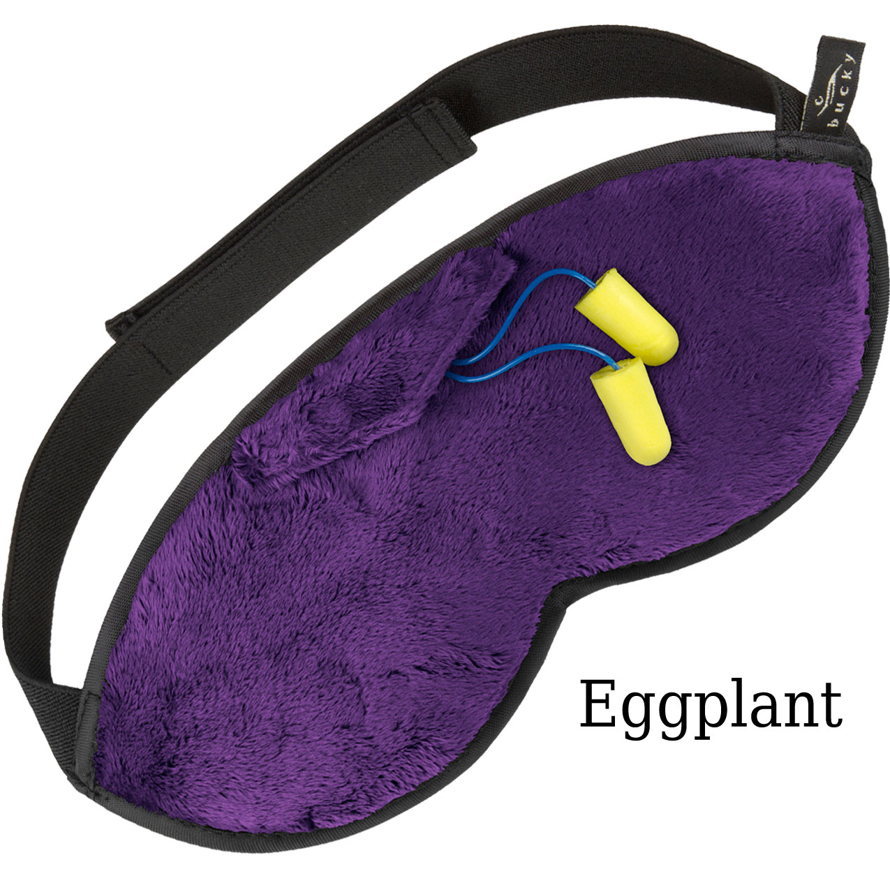 Bucky Shades Sleep Mask | Eggplant
